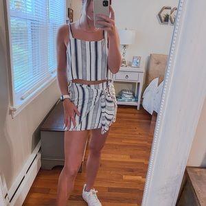 Pacsun Skirt Set